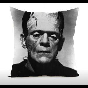 FRANKENSTEIN Horror Pillow Case Cover- Square.